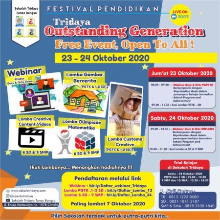 Festival Pendidikan Tridaya Outstanding Generation